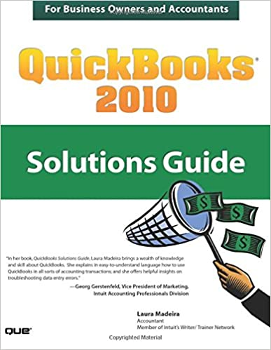 QuickBooks 2010 Solutions Guide